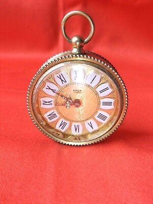Pendulum Table Table Clock Alarm Solo 7 Jewels Collection Mechanism Watch