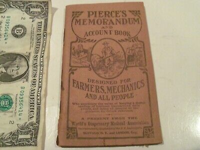Old Rare Farmers Mechanics Medical Book,Dr Pierce's,Over 100 Years Old