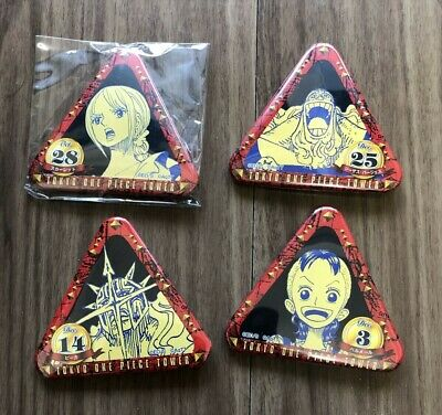 #ON0507 Japan Anime One Piece Birth Day Badge Tokyo One Piece Tower