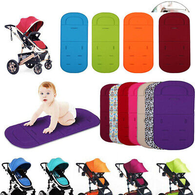Washable Soft Baby Stroller Pushchair Car Seat Padding Pram Liner Pad Cushion