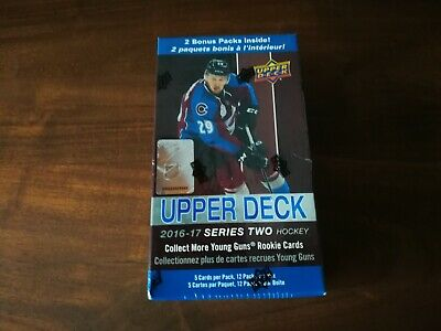2016 - 17 Upper Deck Series 2 ( Two ) Hockey Factory Sealed 12 Pack Blaster Box