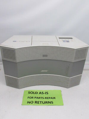 Bose White CD-3000 Acoustic Wave Music System #1
