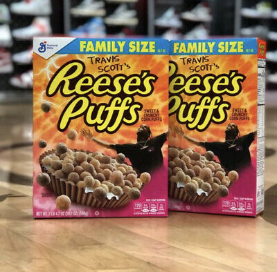 Travis Scott x Reese's Puffs cereal SOLD OUT - Look Mom I Can Fly Exotic Pop