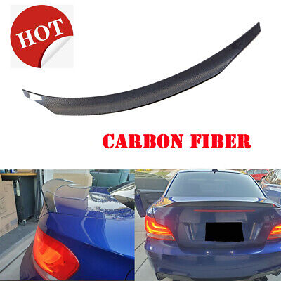 Carbon Fiber Ducktail Boot Spoiler Trunk Lid for BMW E82 Coupe 128i 135i