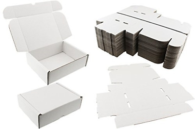 25 x WHITE SHIPPING BOXES POSTAL MAILING GIFT WEDDING PACKET SMALL PARCEL ☆ 20cm