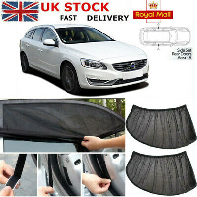 Volvo S90 4dr 2017/> CAR WINDOW SUN SHADE BABY SEAT CHILD BOOSTER BLIND UV