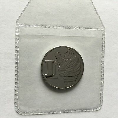 A-Z Alphabet 10p Ten Pence Uncirculated Letter I - Ice Cream British Coin 2018