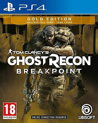 Tom Clancy's Ghost Recon Breakpoint Gold Edition (PS4) In Stock New & Sealed