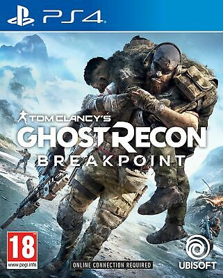 Tom Clancy's Ghost Recon Breakpoint (PS4) In Stock New & Sealed Free UK P&P