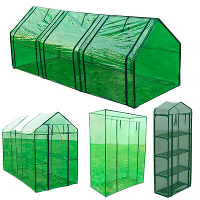 Greenhouse PVC Plastic Outdoor Garden Plant Grow Bag Green House Cool Frame