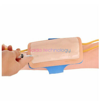Forearm venipuncture skin injection infusion practice module and blood vessels。