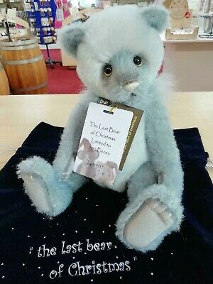 SPECIAL OFFER Charlie Bears Mohair THE LAST BEAR OF CHRISTMAS 407/500 RRP £180