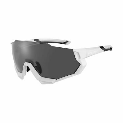 RockBros Polarized Cycling Sunglasses Goggles Eyewear Bike Glasses White New