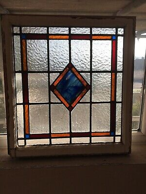 Antique Stained Glass Panels