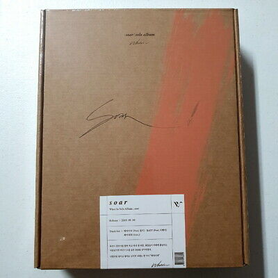 Whee In [Mamamoo] - Soar CD+64p Booklet+Photocard Ticket+Painting&Mini Easel New