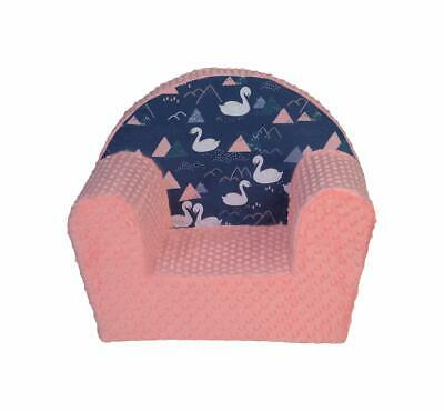 MuseHouse Childrens MINKY I Chair I Kids Armchair I Toddlers Childs Sofa seat