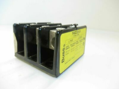 16220-1 162201- Cooper Bussmann  Power Terminal Block (used tested)