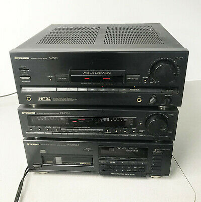 Pioneer A-Z370 Stereo Integrated Amplifier GR-Z370 Equalizer PD-Z970M Cd Player