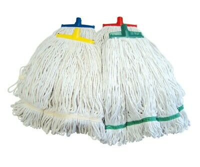 SYR Interchange 454g 16oz Looped Cotton Kentucky Mop Head Replacement Cleaning