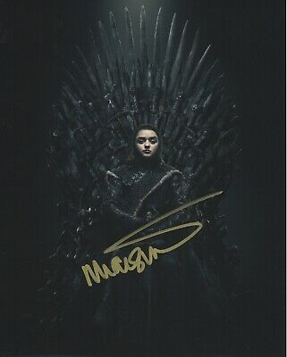 Maisie Williams Game of Thrones signed autographed  8x10 photo M515
