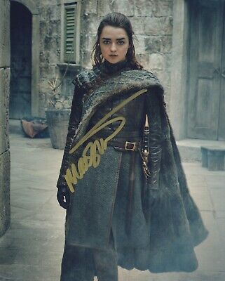 Maisie Williams Game of Thrones signed autographed  8x10 photo M602