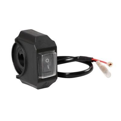 Waterproof handle black bar switch for motorcycles scooter 12 volt