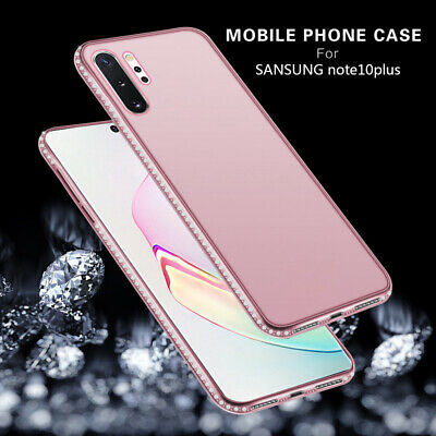 For Samsung Galaxy Note 10 Plus S10 Bling Diamond Soft Silicone Clear Case Cover