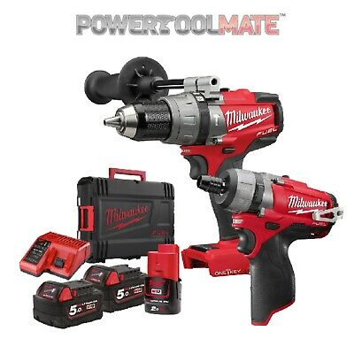 Milwaukee M18ONEPP2O-523X M18 ONE KEY Combi+M12 FUEL Driver Twin Pack