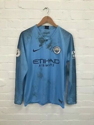 Manchester City Men's Nike 2018/19 Home Shirt - M - Blue - NWD