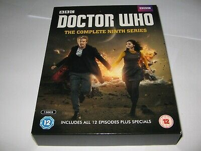 DOCTOR WHO / DR WHO : COMPLETE NINTH 9th TV SERIES (2015) 7 DISC DVD BOX SET
