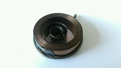 French & German Hole End Clock Mainspring Height 14 mm Diameter 28mm Force 0.28
