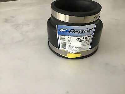 Flexseal Adaptor Coupling with OD of 170mm-192mm to 110//122mm on Alternate Sides