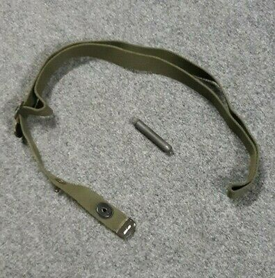 Original WWII USGI M1 Carbine Sling WW2 Army Marines IBM Saginaw I.S. Oiler #281