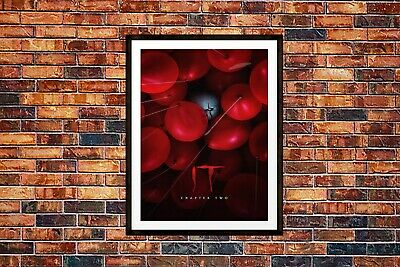 IT Chapter Two Movie Poster Wall Art Maxi 2019 Prints New Film Cinema -1713