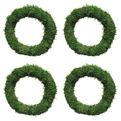 "Moss Wreath Rings Make Your Own Wreath 8"" 10"" + 12"" Choose Your Amount"
