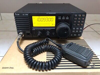 FOR SALE A Icom Ic-718 Transceiver - £375 00 | PicClick UK