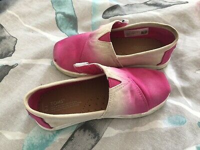 Girls Toms Ombre Pink Size 9