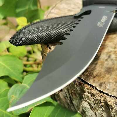 Camping Hunting Knife Survival Knife Military Tactical Sharp Pig Sticker AUstock