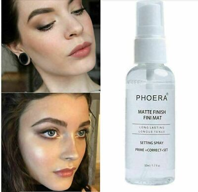 Phoera Matte Makeup Setting Spray Face Primer Foundation Base Fixer Hydrate Fix