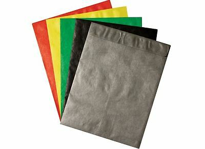 12 x 15 1/2 Colored Tyvek Envelopes 100/lot Assorted Colors