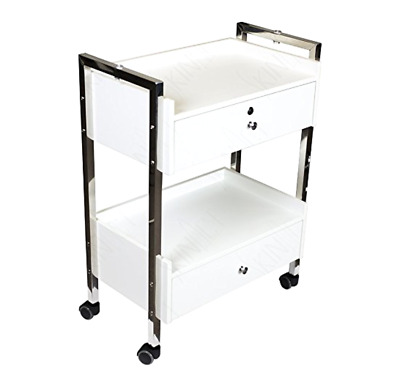 Medical, Dental Mobile Utility Cabinet & Cart with Steel Frame, Lockable