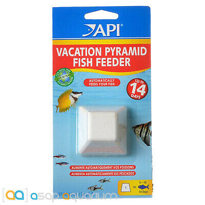 API Vacation Pyramid 14 Day Fish Feeder 1 Tablet Automatically Feeds your Fish