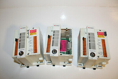 Lot of 3 Keyence PJ-V90 Light Curtain Controllers