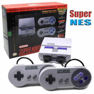 Super Nintendo Classic SNES Mini Entertainment System Games Without Charger