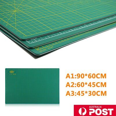 A1 A2 A3 PVC Self Healing Cutting Mat Craft Quilting Grid Lines Printed Board dw