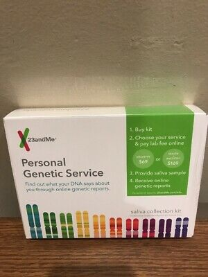 23andme Personal Genetic Service DNA Saliva Kit For Ancestry & Health Exp:09/20
