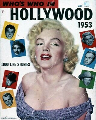 35m-5978 Marilyn Monroe Who's Who in Hollywood magazine cover 35m-5978 35m-5978
