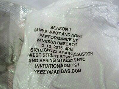 AUTHENTIC ADIDAS YEEZY Season 1 Invite Jacket Windbreaker
