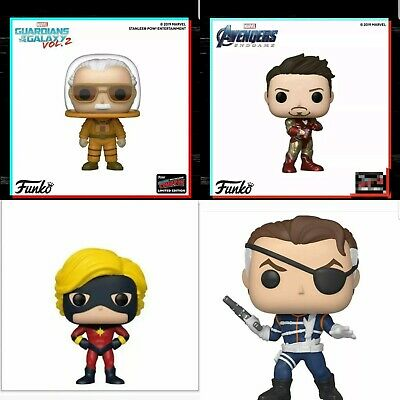 Funko Pop Marvel NYCC 2019 Shared Sticker Exclusives Bundle Preorder