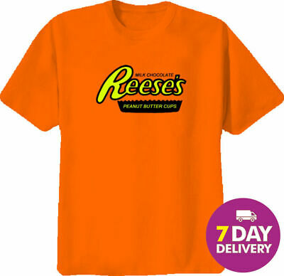 Reese Peanut Butter Cups T Shirt Full Size Gildan Ultra Cotton Vintage Funny
